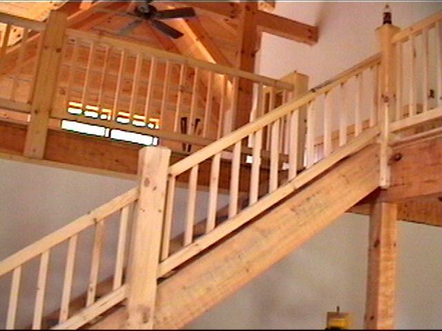 Interior loft railings joy studio design gallery best for Pre built stairs